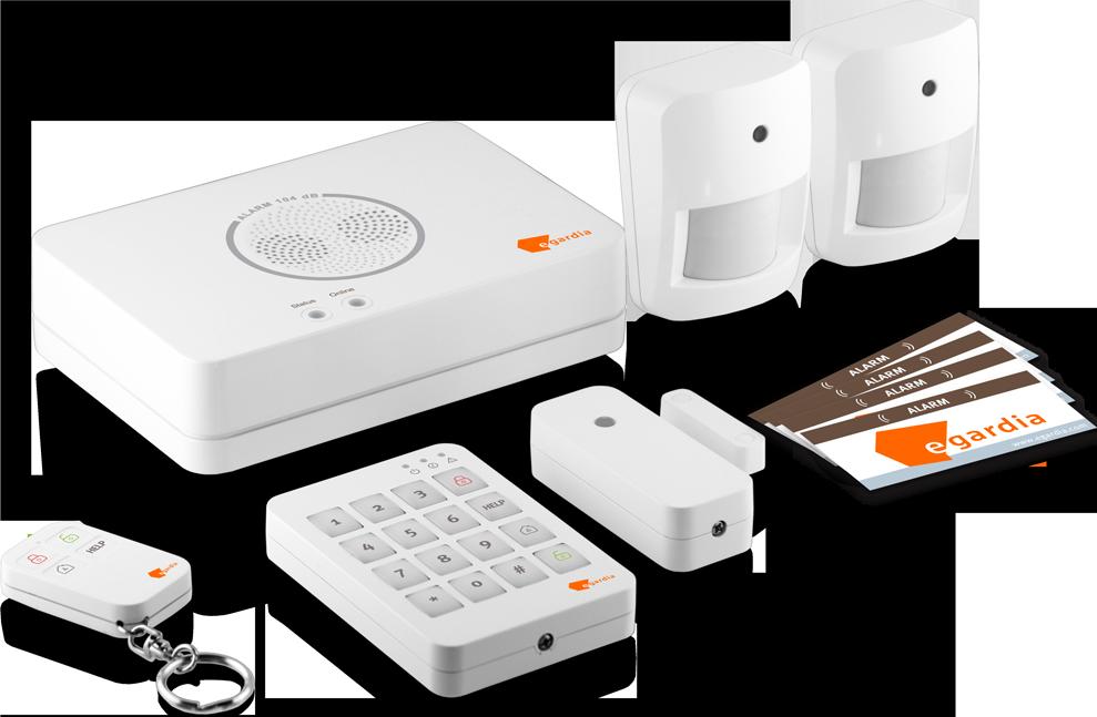 Egardia alarm 04 syst me d 39 alarme 104 db blanc for Prix systeme d alarme