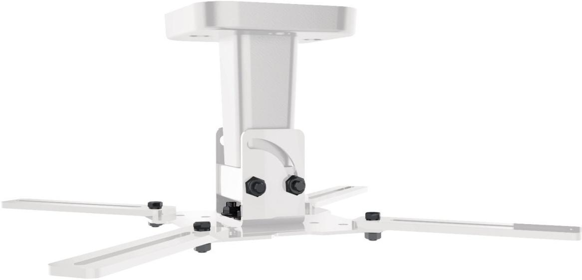 Meliconi pro 100 montage au plafond blanc supports - Installation videoprojecteur au plafond ...