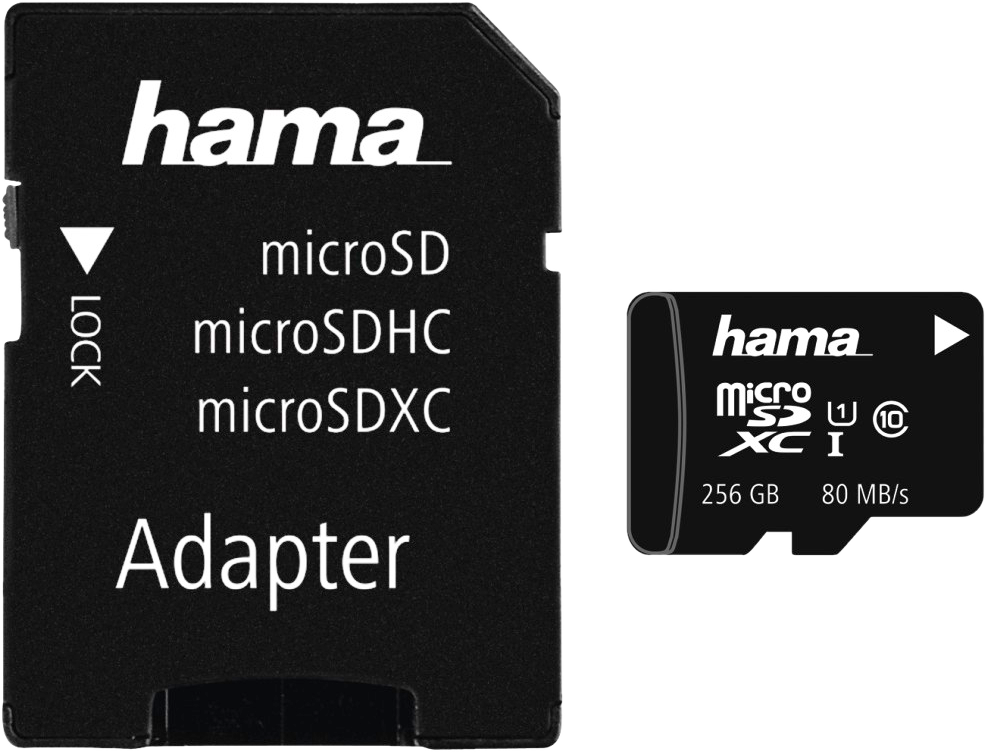 hama microsdxc class 10 uhs i adapter mobile carte m moire 256 gb noir cartes micro sd. Black Bedroom Furniture Sets. Home Design Ideas
