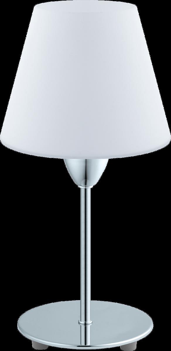 eglo damasco 1 95786 tischleuchte max 60 w chrom weiss g nstig kaufen tischleuchten. Black Bedroom Furniture Sets. Home Design Ideas