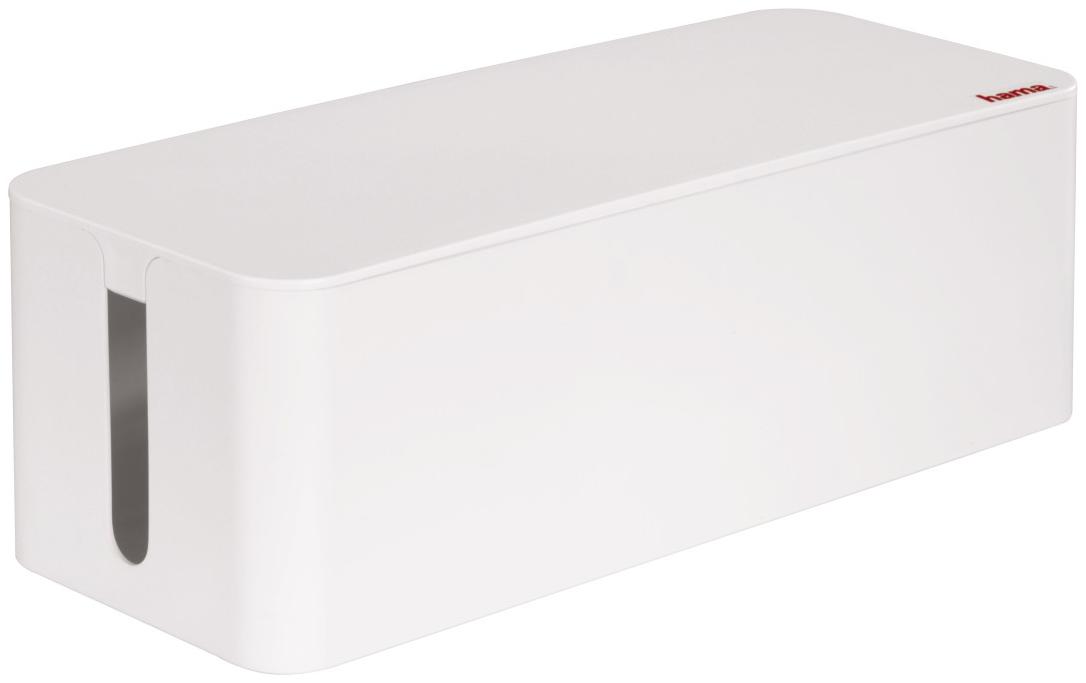 hama kabelbox maxi weiss g nstig kaufen kabelrollen boxen media markt online shop. Black Bedroom Furniture Sets. Home Design Ideas