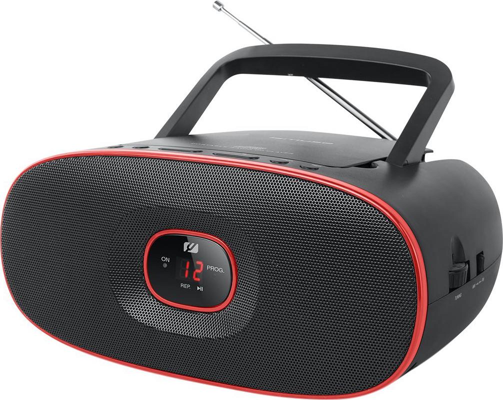 muse md 202 rd tragbarer radio cd player fm mw analog. Black Bedroom Furniture Sets. Home Design Ideas