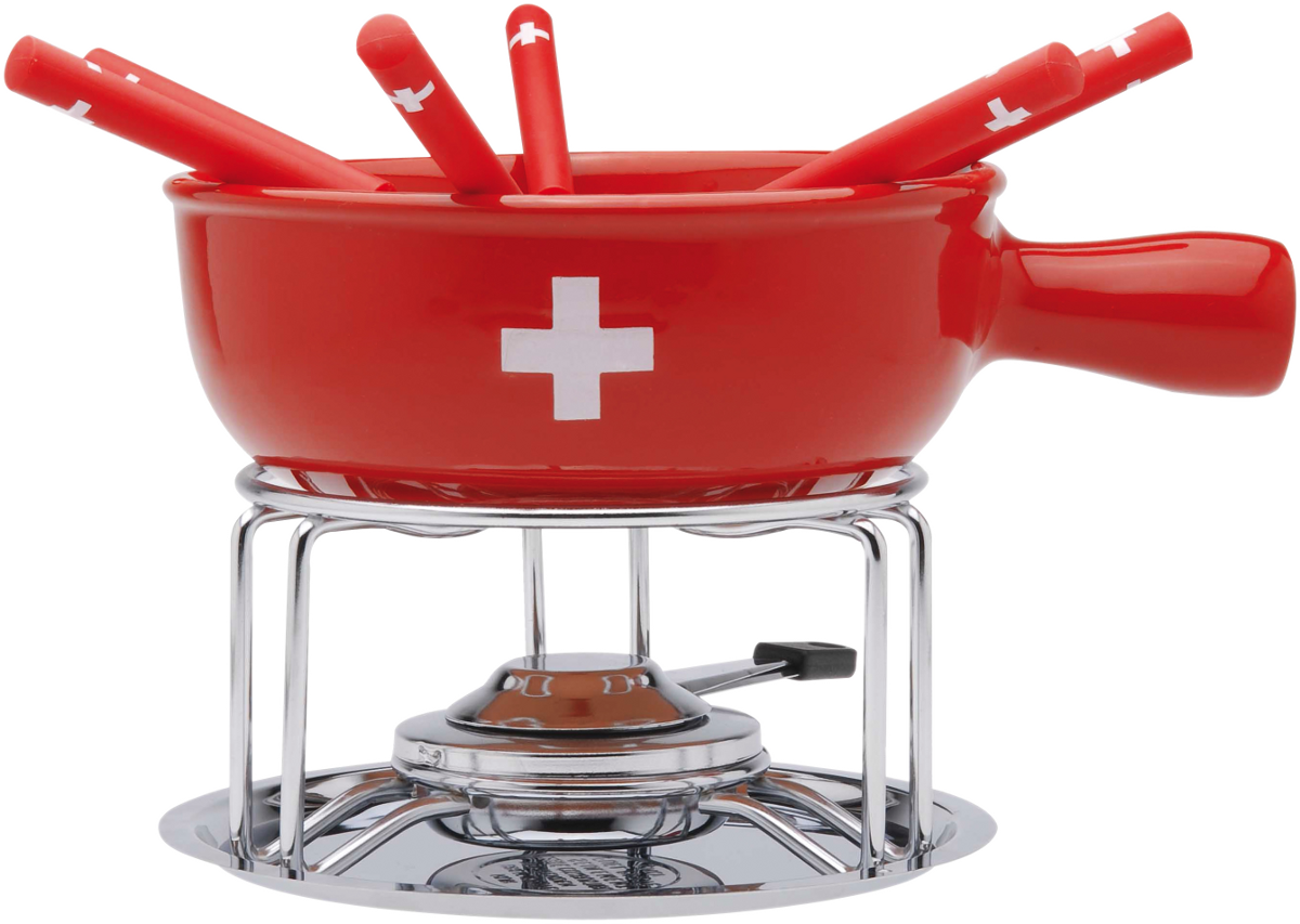 Nouvel set fondue au fromage ch kreuz fondue traditionnelle acheter bas prix media - Appareil a fondue savoyarde traditionnel ...