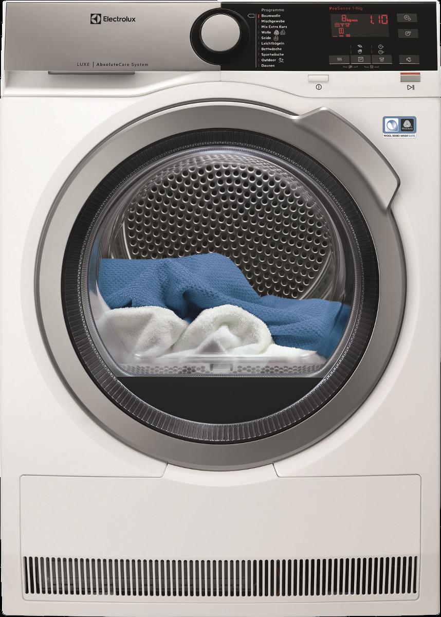 electrolux twl4e300 w rmepumpentrockner energieeffizienzklasse a weiss g nstig kaufen. Black Bedroom Furniture Sets. Home Design Ideas