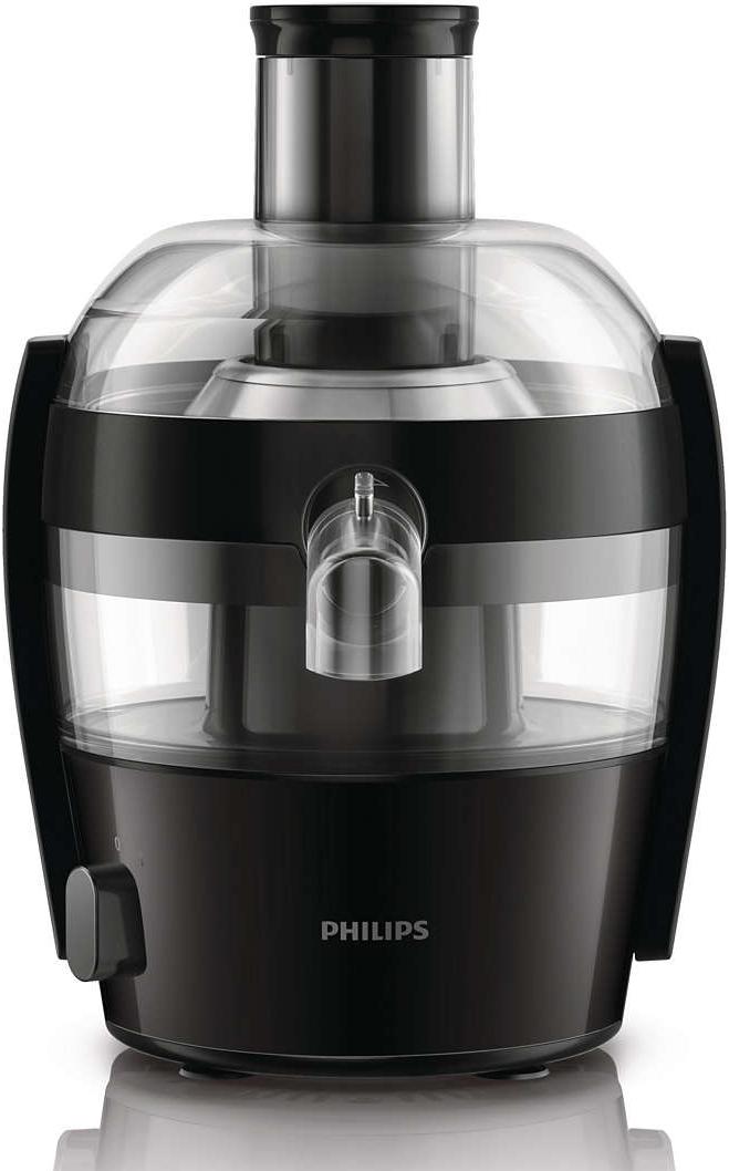 Philips hr1832 00 centrifugeuse 400 w noir - Philips extracteur de jus ...
