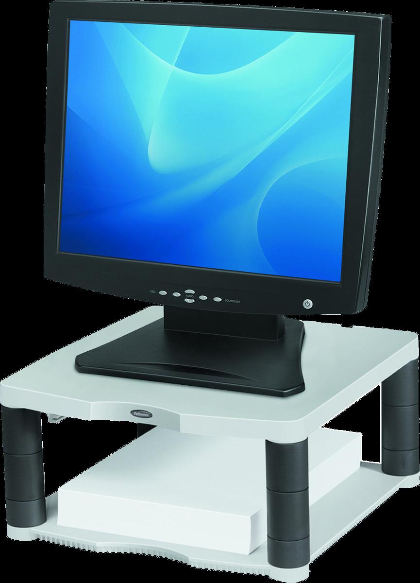 fellowes premium monitor st nder bis 21 platingrau. Black Bedroom Furniture Sets. Home Design Ideas