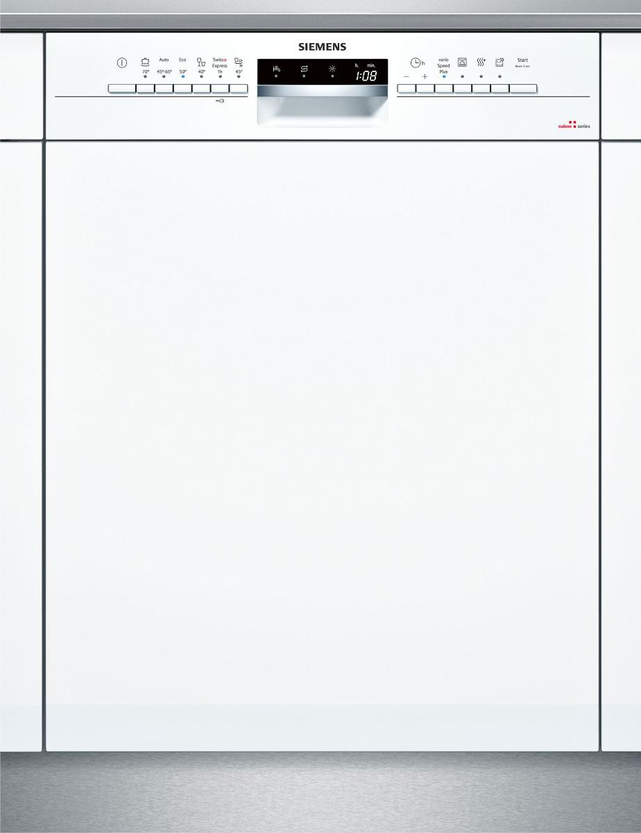siemens sx536w00ih lave vaisselle int grable capacit 13 couverts blanc lave vaisselle. Black Bedroom Furniture Sets. Home Design Ideas