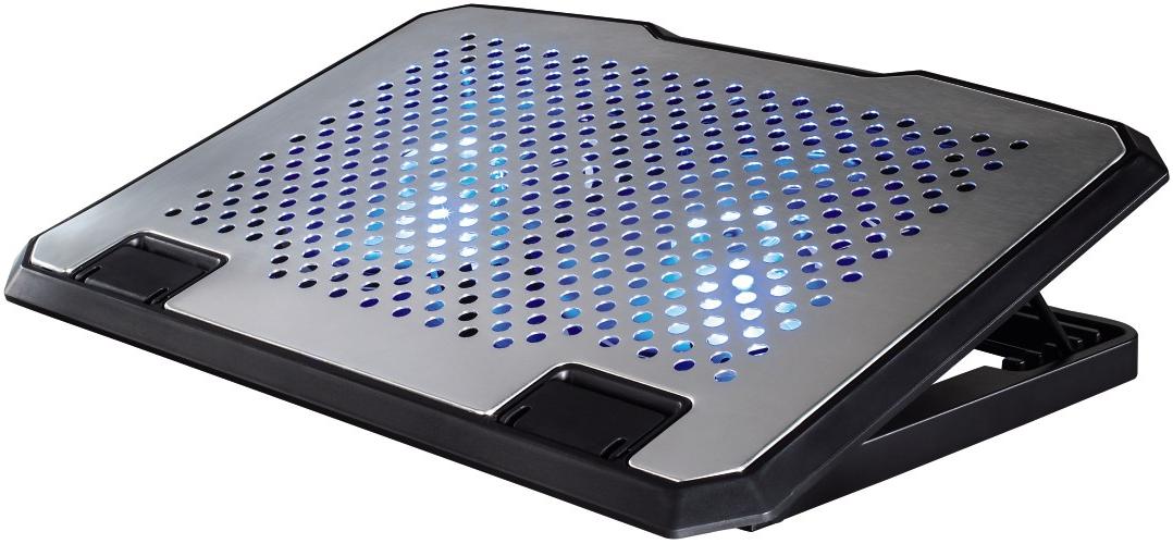 hama notebook k hler 2x ventilator aluminium g nstig kaufen sonstiges zubeh r media. Black Bedroom Furniture Sets. Home Design Ideas