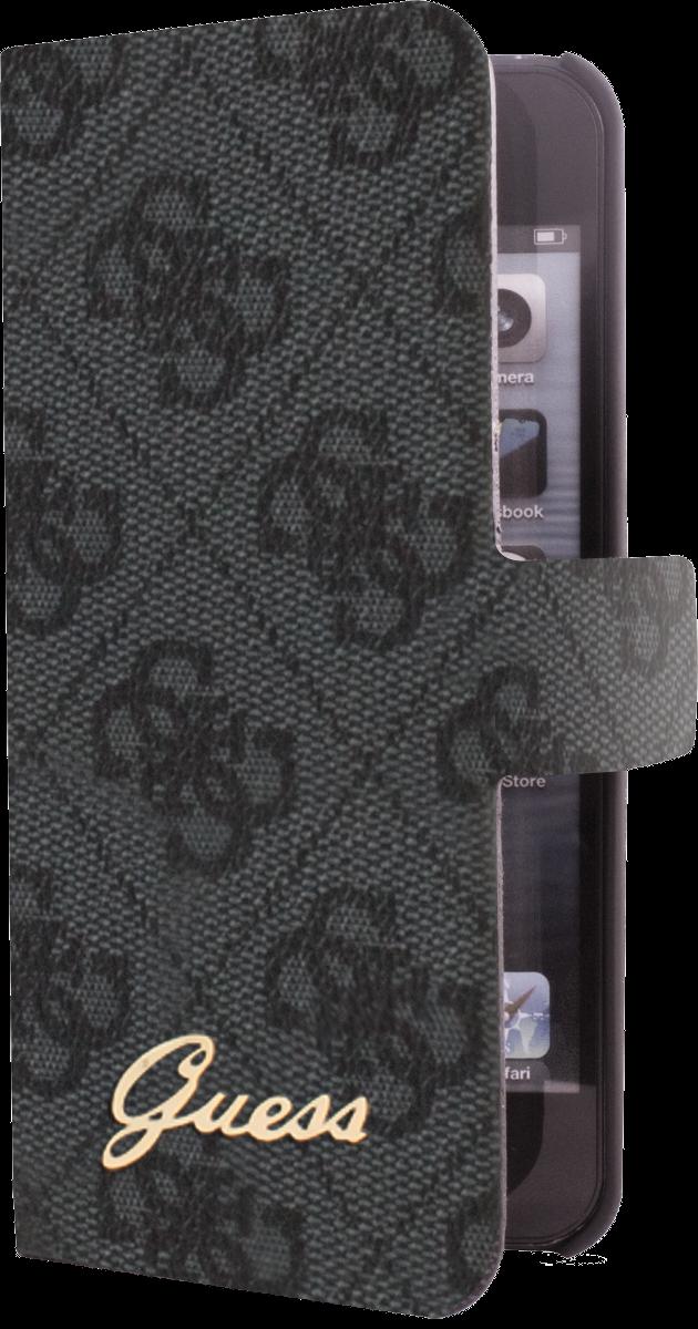 guess iph5 ultra slim grau g nstig kaufen iphone 5. Black Bedroom Furniture Sets. Home Design Ideas