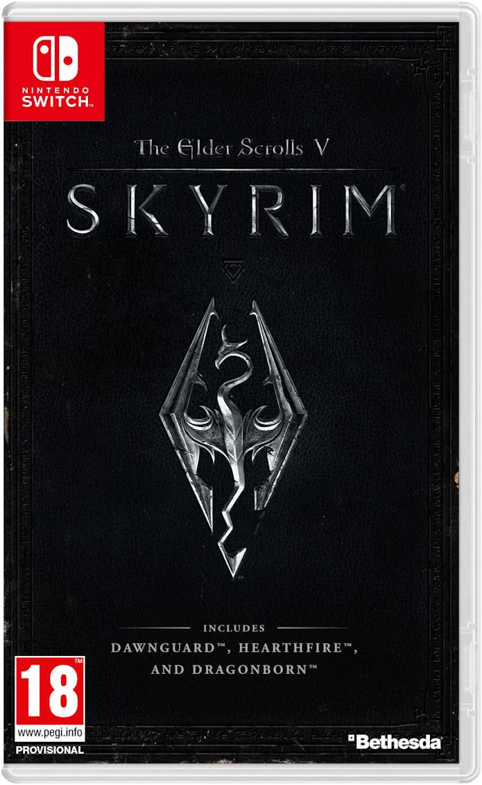 The Elder Scrolls V: Skyrim, Switch [Version allemande] - Jeux ...