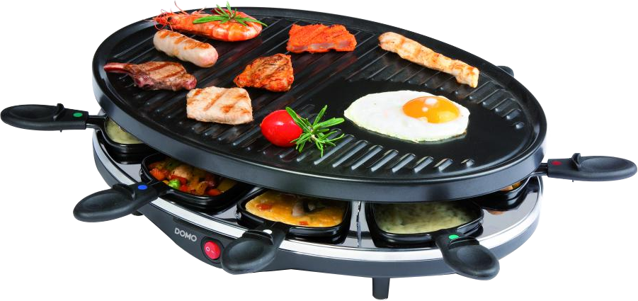 domo do9038g raclette grill 1200 w schwarz g nstig kaufen kombi raclettegrill media. Black Bedroom Furniture Sets. Home Design Ideas