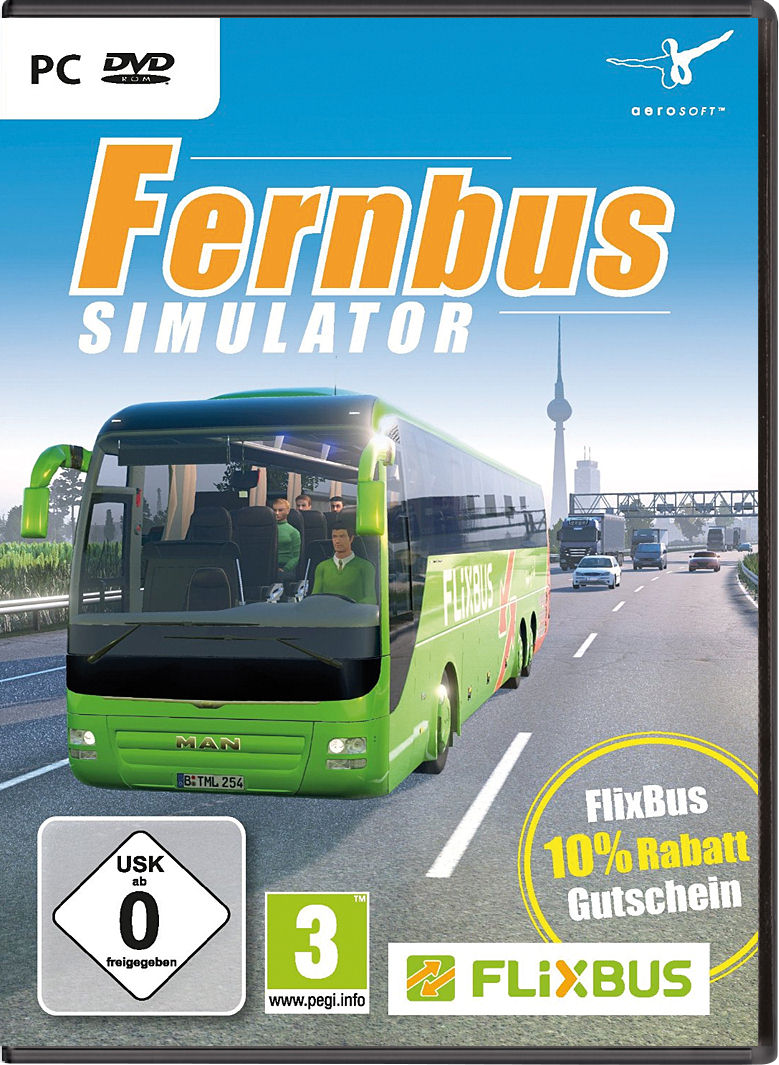 fernbus simulator platinum version pc g nstig kaufen. Black Bedroom Furniture Sets. Home Design Ideas