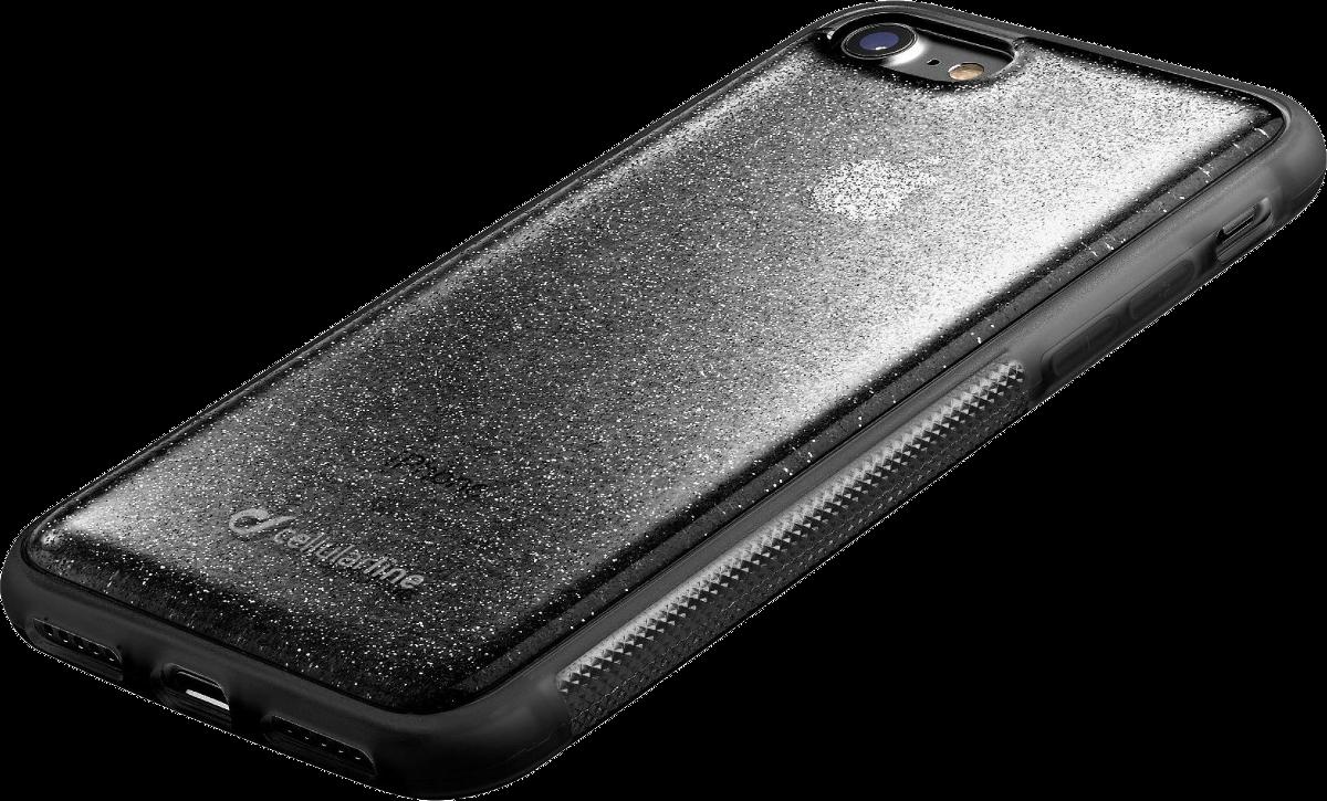 cellularline selfie case f r iphone 7 8 schwarz. Black Bedroom Furniture Sets. Home Design Ideas