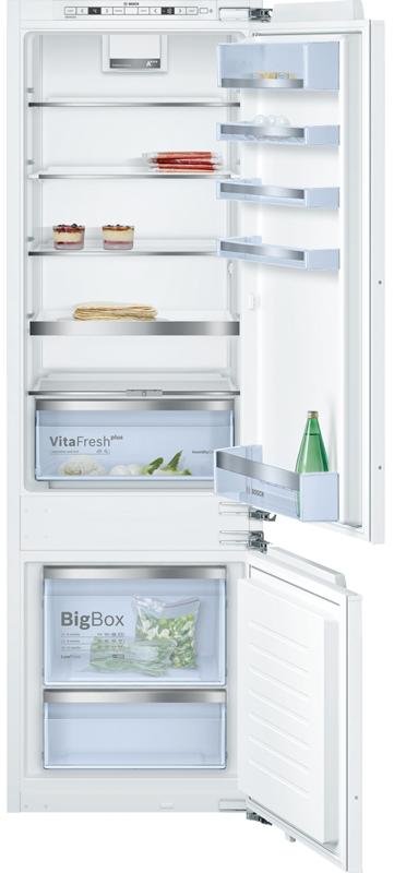 bosch kis87ad40 frigo congelatori combinati da incasso norma euro 60 cm altezza nicchia 178. Black Bedroom Furniture Sets. Home Design Ideas