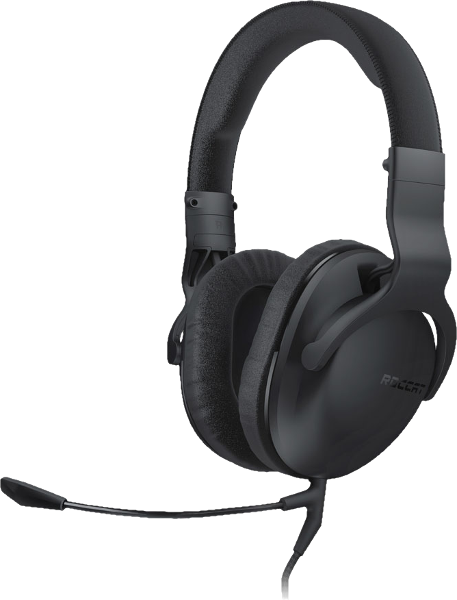 roccat cross gaming headset mit mikrofon schwarz. Black Bedroom Furniture Sets. Home Design Ideas