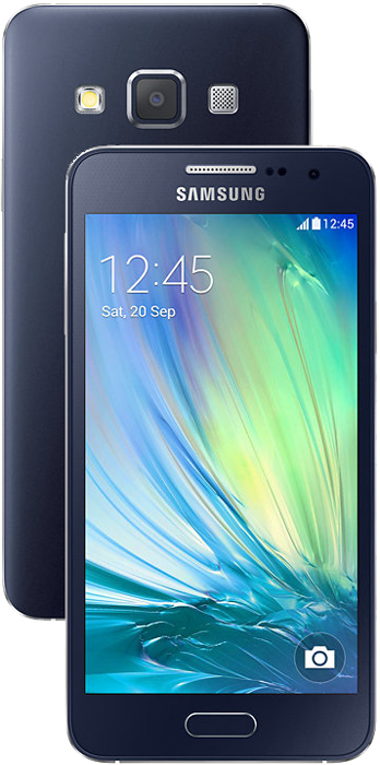 samsung galaxy a3 dual sim android smartphone 16gb. Black Bedroom Furniture Sets. Home Design Ideas