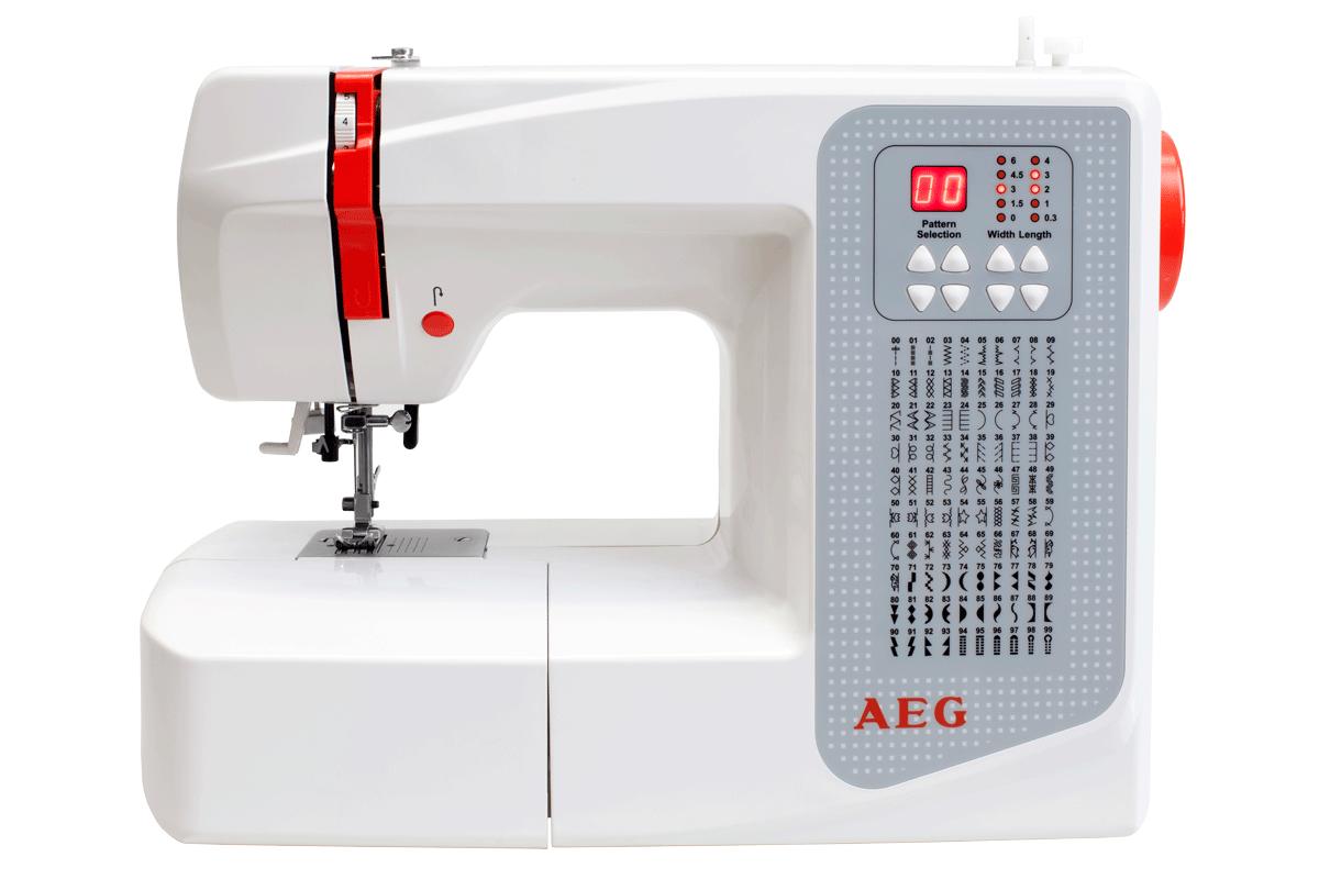aeg 6200 n hmaschine 700 stiche min 41 watt 100 n hprogramme weiss g nstig kaufen. Black Bedroom Furniture Sets. Home Design Ideas