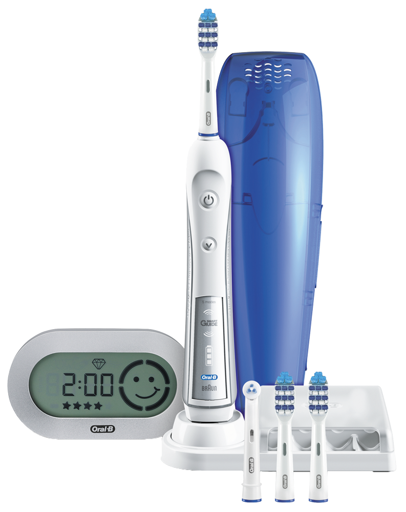 braun oral b trizone 5500 mit smartguide elektrische zahnb rsten drei. Black Bedroom Furniture Sets. Home Design Ideas