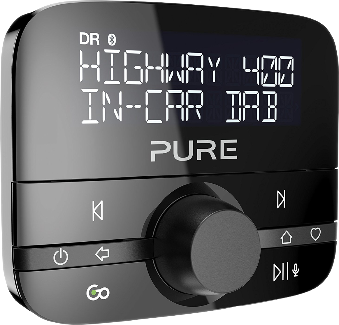 pure digital highway 400 auto digitalradio adapter dab. Black Bedroom Furniture Sets. Home Design Ideas