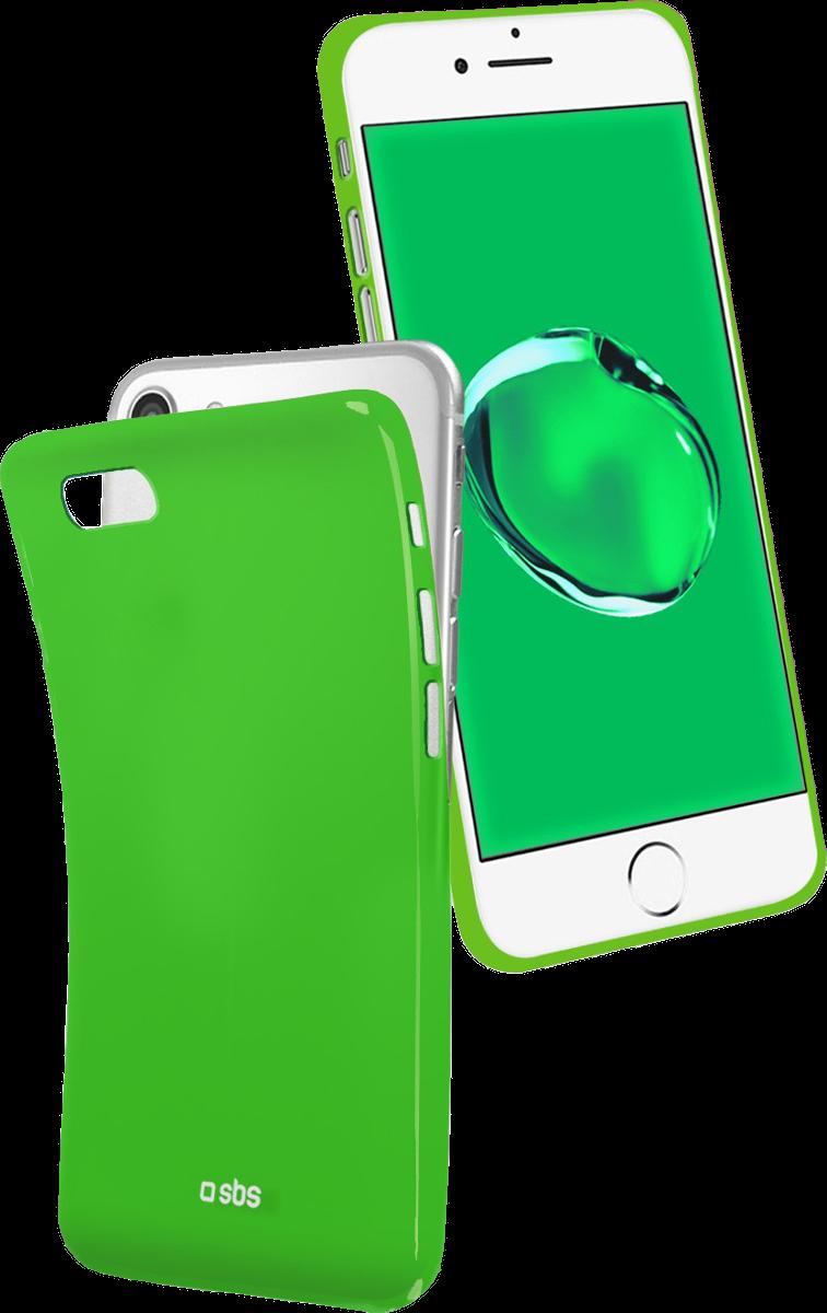 sbs cool f r apple iphone 6 6s 7 8 gr n g nstig kaufen iphone 8 h llen media markt. Black Bedroom Furniture Sets. Home Design Ideas