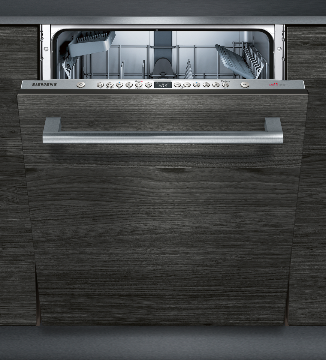 siemens sn736x01ih vollintegrierter geschirrsp ler kapazit t 13 massgedecke edelstahl. Black Bedroom Furniture Sets. Home Design Ideas