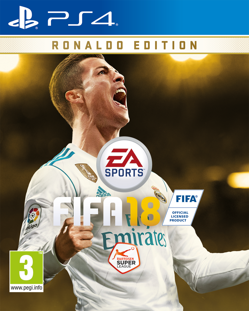 fifa 18 ronaldo edition ps4 multilingue jeux ps4 sport. Black Bedroom Furniture Sets. Home Design Ideas