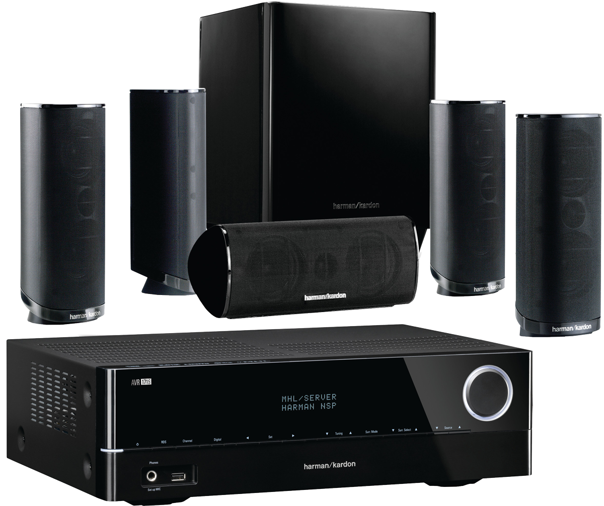 harman kardon avr 171s hkts 16 7 2 kanal av receiver. Black Bedroom Furniture Sets. Home Design Ideas