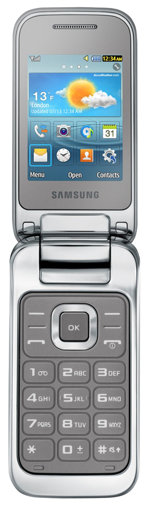 samsung gt c3590 argent natel t l phone portable acheter bas prix media markt boutique. Black Bedroom Furniture Sets. Home Design Ideas