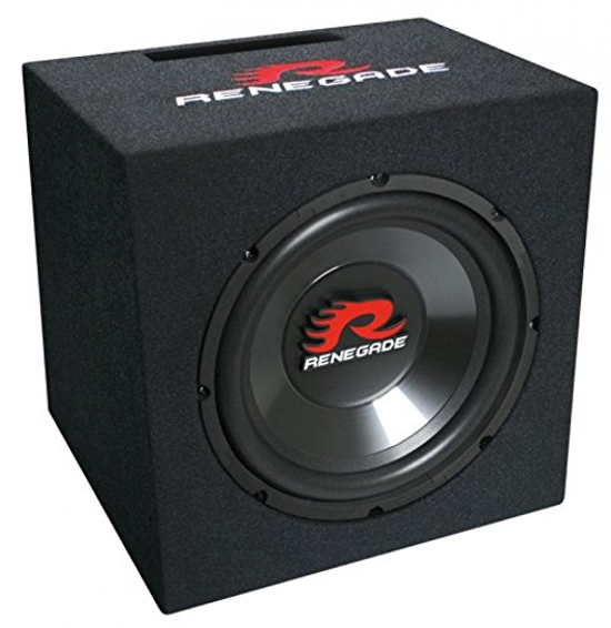 renegade subwoofer box rxv1000 lautsprecher 500 watt. Black Bedroom Furniture Sets. Home Design Ideas