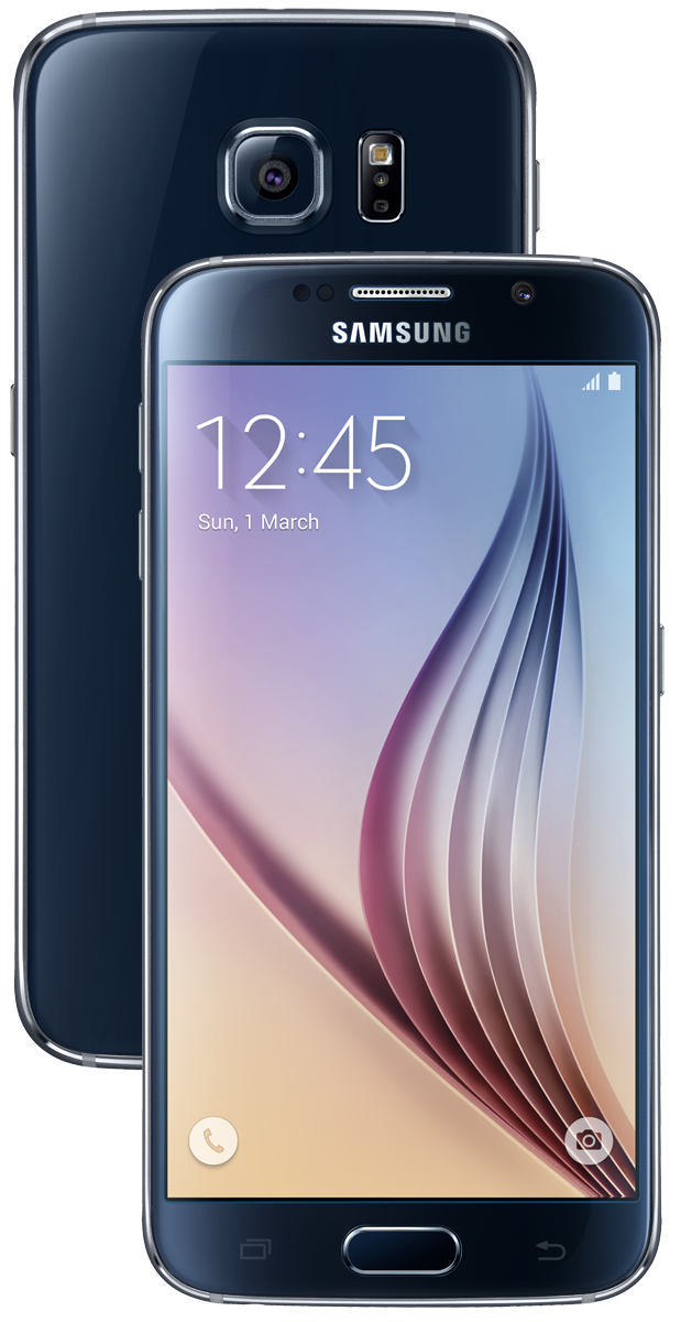 samsung galaxy s6 android smartphone 32 gb schwarz. Black Bedroom Furniture Sets. Home Design Ideas