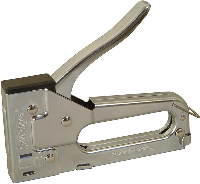 stanley tr45 handtacker f r klammern typ a edelstahl g nstig kaufen tacker media markt. Black Bedroom Furniture Sets. Home Design Ideas