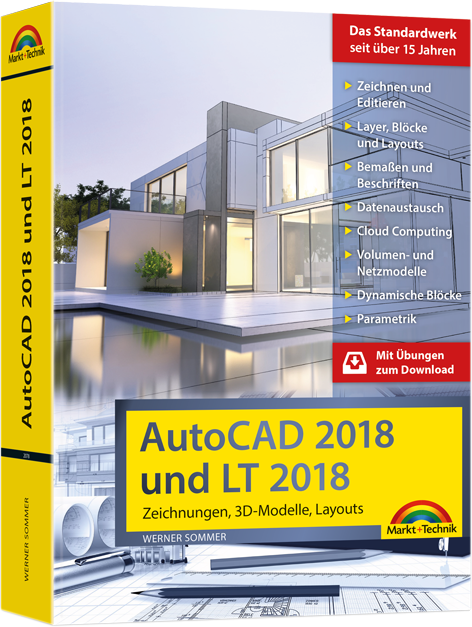 autocad 2018 und lt 2018 kaufen technik maschinenlehre media markt online shop. Black Bedroom Furniture Sets. Home Design Ideas