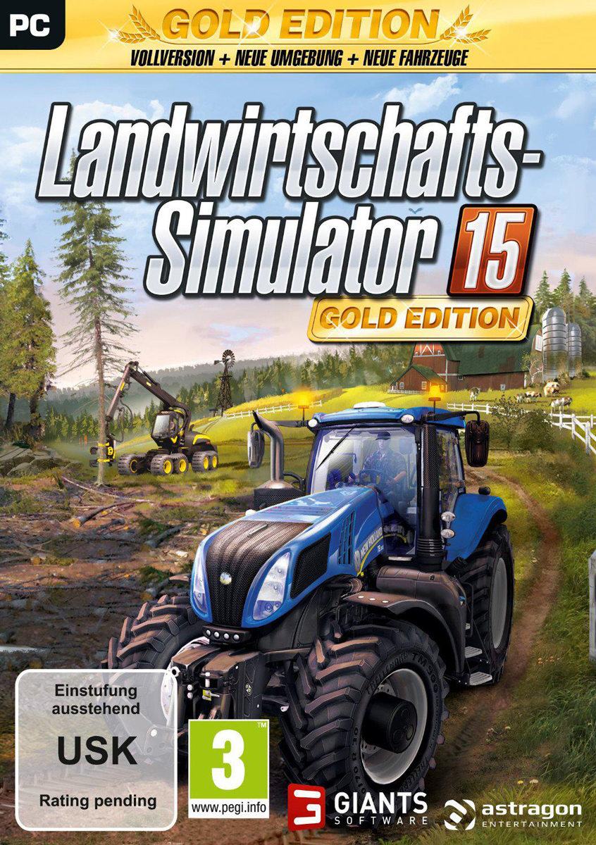 landwirtschafts simulator 15 gold edition pc g nstig. Black Bedroom Furniture Sets. Home Design Ideas