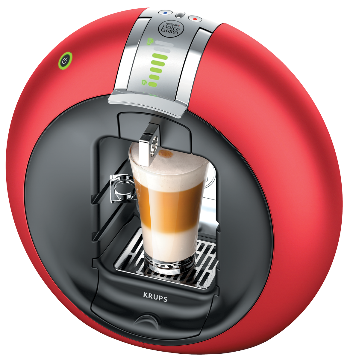 krups kp5105 nescaf dolce gusto circolo automatic rouge. Black Bedroom Furniture Sets. Home Design Ideas