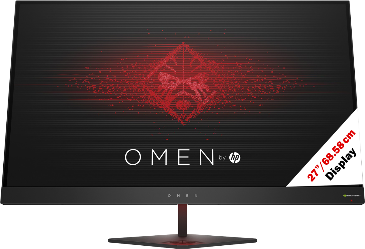 hp omen 27 gaming monitor display 27 cm. Black Bedroom Furniture Sets. Home Design Ideas