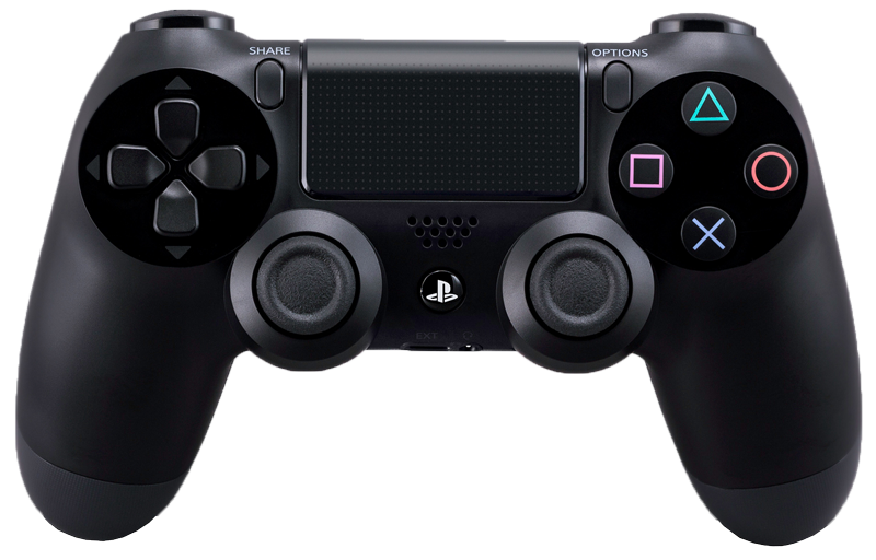 sony playstation dualshock 4 wireless controller schwarz. Black Bedroom Furniture Sets. Home Design Ideas