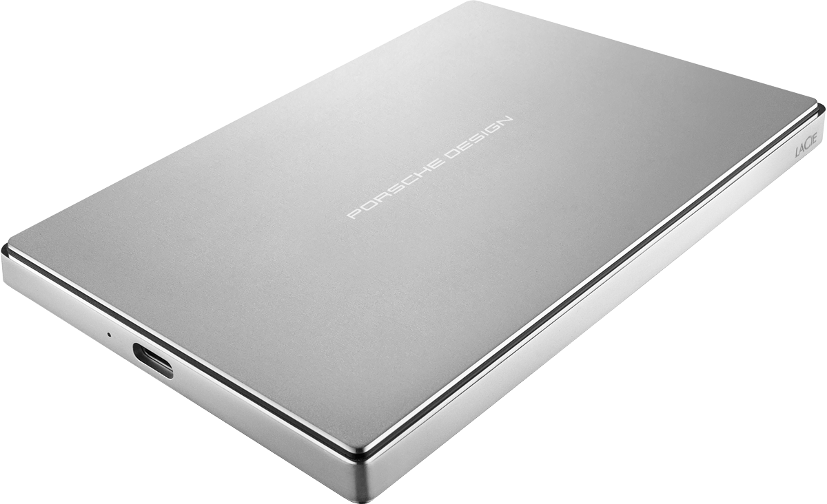 LaCie Porsche Design Mobile Drive USB-C - Festplatte - Kapazität 4 ...