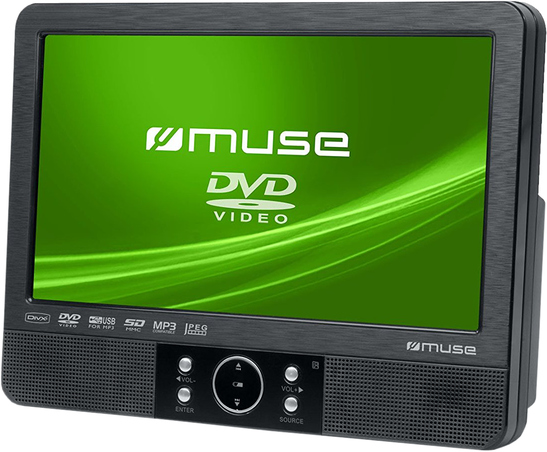 muse m 920 cvb tragbarer dvd player 9 schwarz. Black Bedroom Furniture Sets. Home Design Ideas