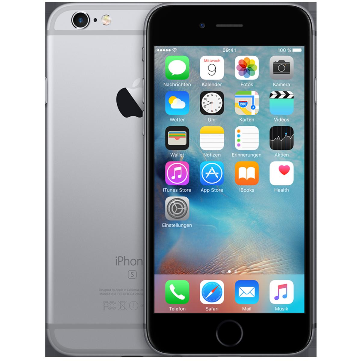 apple iphone 6s ios smartphone 4 7 cm 32 gb. Black Bedroom Furniture Sets. Home Design Ideas