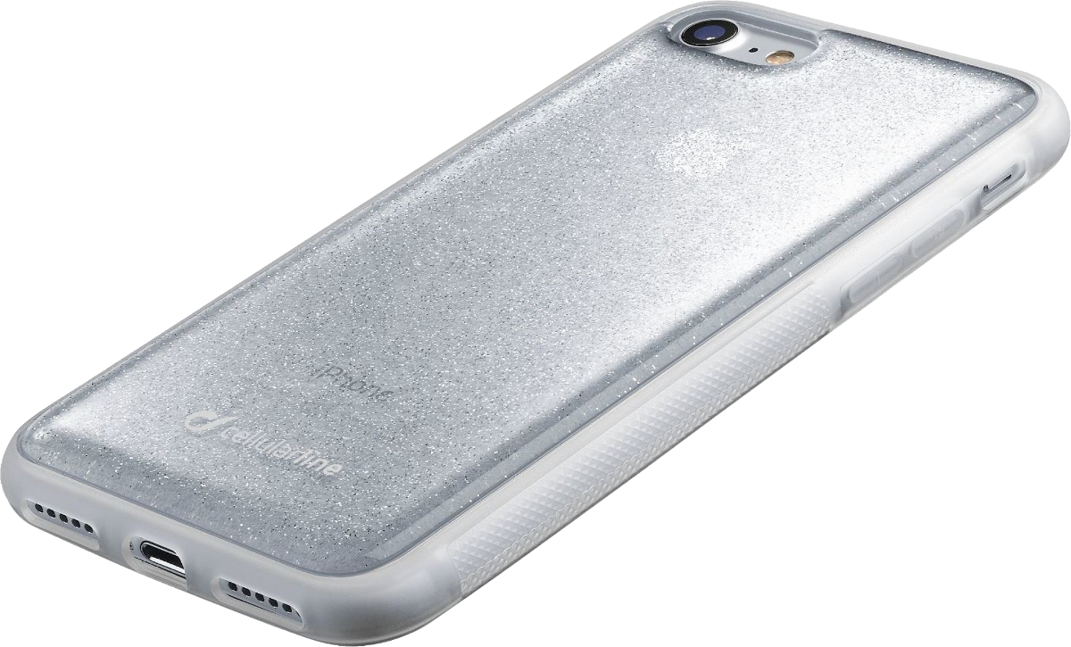 cellularline selfie case f r iphone 7 8 silber g nstig. Black Bedroom Furniture Sets. Home Design Ideas