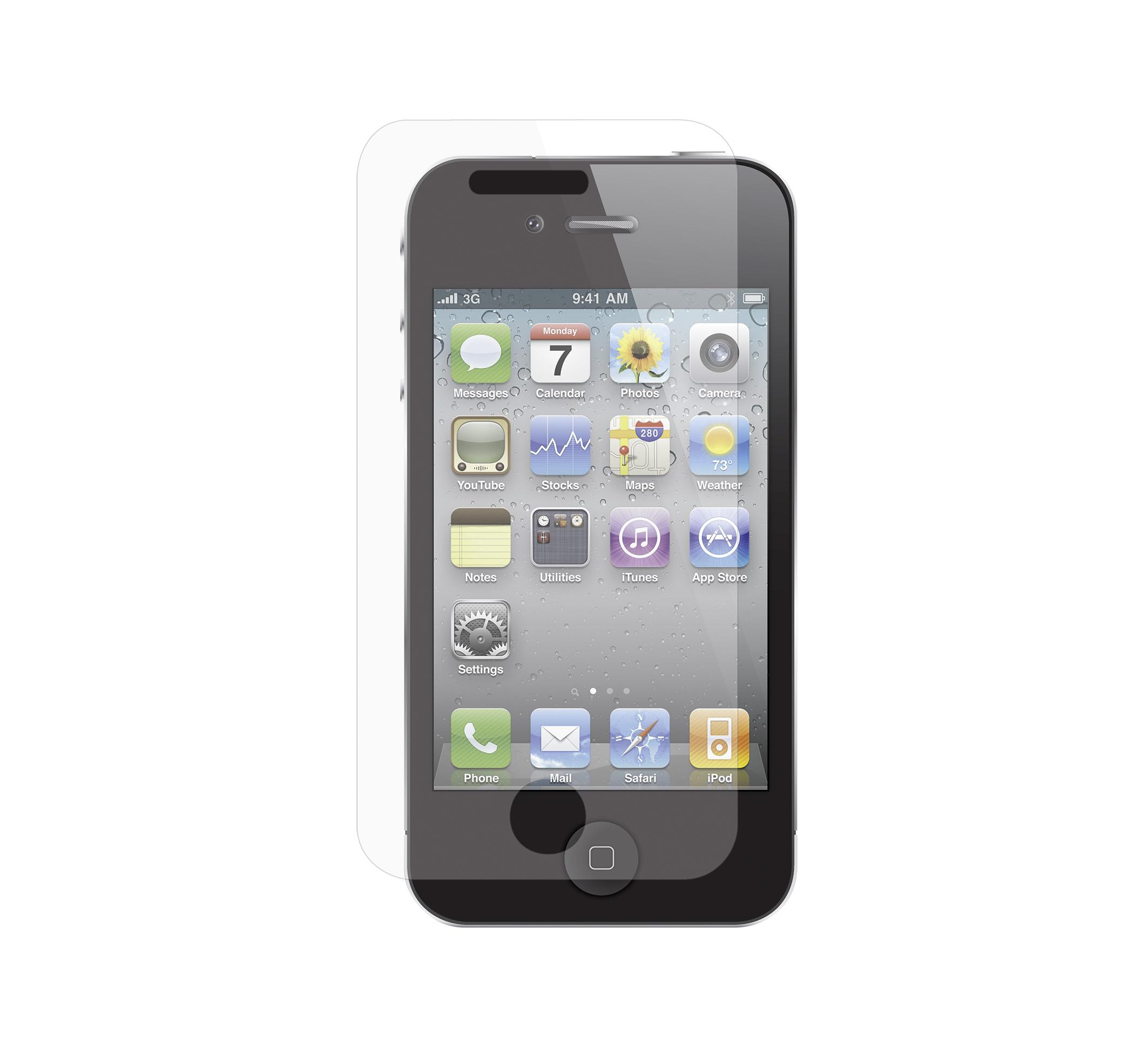 isy iph 1050 display schutzfolie g nstig kaufen iphone. Black Bedroom Furniture Sets. Home Design Ideas