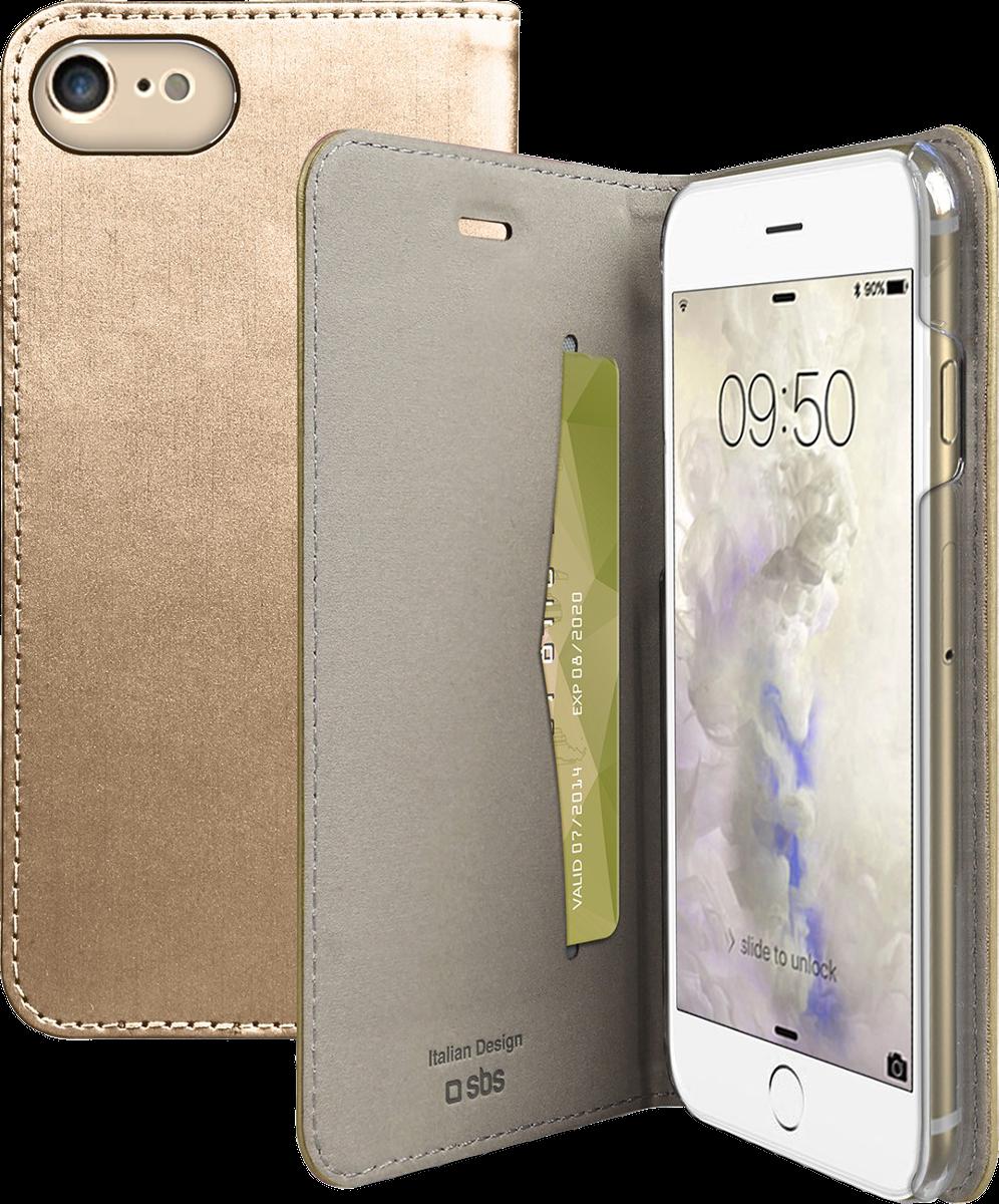 sbs gold collection f r apple iphone 7 8 gold g nstig. Black Bedroom Furniture Sets. Home Design Ideas