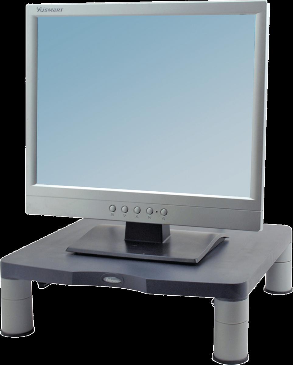 fellowes standard monitor st nder bis 17 graphit. Black Bedroom Furniture Sets. Home Design Ideas